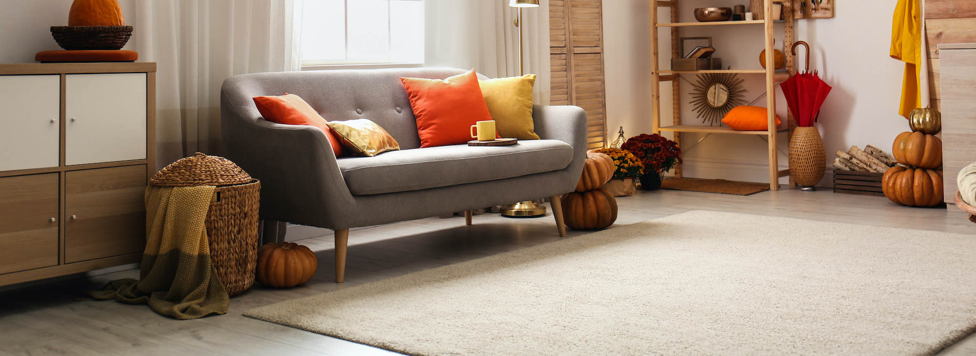 carpet cleaning during fall holidays